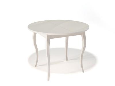 Стол Kenner 1000 С крем/стекло крем