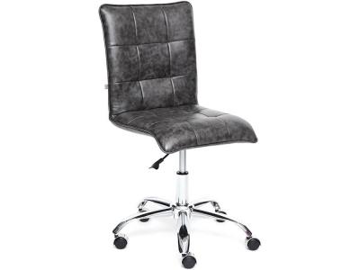 Кресло Zero кож.зам Серый (2 Tone)