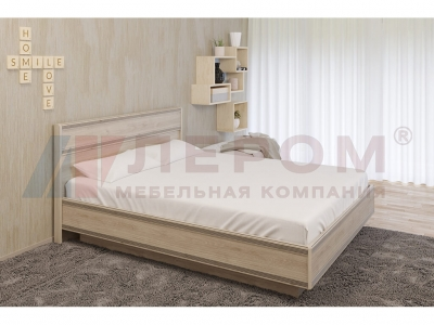 Кровать c подъемным механизмом КР-1003 1600х2000 Гикори Джексон светлый