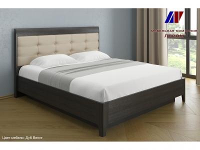Кровать с мягким изголовьем КР-1074 1800х2000 Дуб Венге