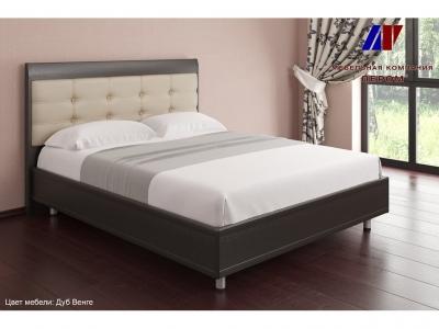Кровать с ортопедическим основанием КР-2053 1600х2000 Дуб Венге