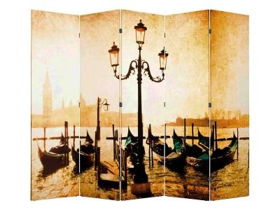 Ширма 1201-5 Набережная Венеции 5 панелей