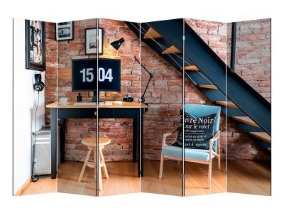 Ширма 1604-6 Loft 6 панелей