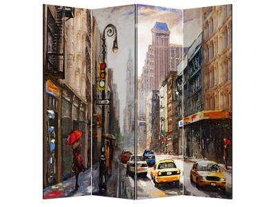 Ширма 1218-4 Нью-Йорк 4 панели