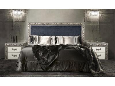Спальня Тиффани Премиум Черное серебро