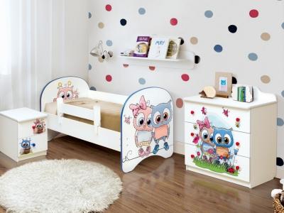 Детская комната с фотопечатью Совята