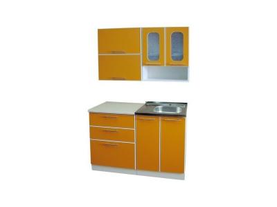 Кухонный гарнитур Ирбея 1.2 Оранжевый