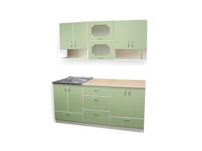 Кухонный гарнитур Ирбея 4.7 зеленый