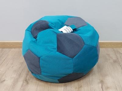 Кресло-мешок Мяч S кат. 2 shaggy azure-shaggy grafit