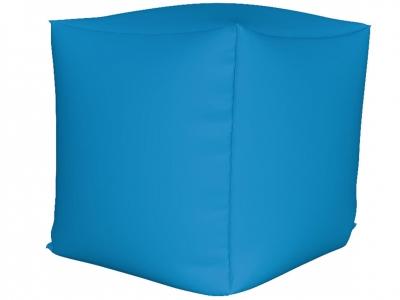 Пуфик Куб мини нейлон голубой