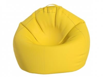Кресло-мешок Малыш нейлон желтый