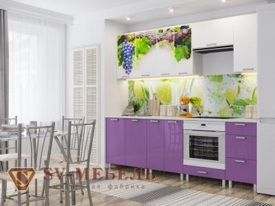Кухня Модерн фотопечать виноград