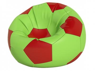 Кресло-мешок Мяч большой нейлон салатовый-красный