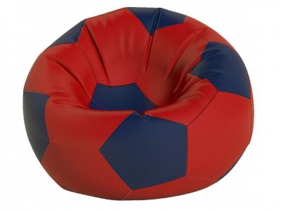 Кресло-мешок Мяч средний нейлон красный-темно синий