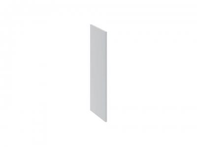 Панель боковая декоративная нижняя ПБд-Н_72 Скай Голубая