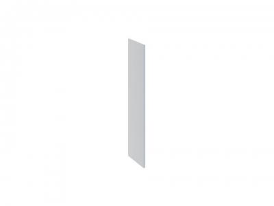 Панель боковая декоративная верхняя ПБд-В_96 Скай Голубая