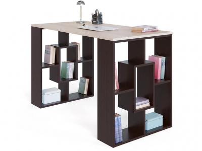 Письменный стол Сокол СПм-15 Венге/Беленый дуб