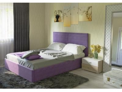 Кровать Прага с подъемным механизмом Савана Виолет фиолетовый