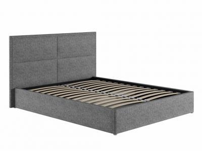 Кровать Прага с подъемным механизмом Савана Грей - серый