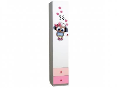 Шкаф 1-но дверный с ящиками Совята 1.2