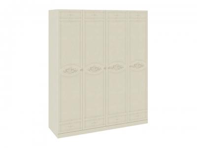 Шкаф для одежды и белья с 4я глух. дверями Лорена СМ-254.44.002 Штрихлак