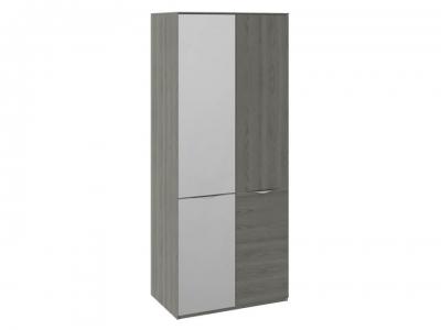 Шкаф для одежды с 1 дверью и 1 зерк. дверью Либерти СМ-297.07.024 Хадсон