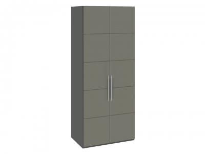 Шкаф с 2 дверями Наоми СМ-208.07.03 Серый, Джут