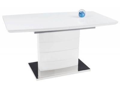 Стол деревянный Arika белый