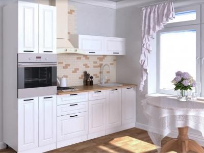 Кухонный гарнитур Белый вегас 2400