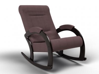 Кресло-качалка Венето кофе с молоком