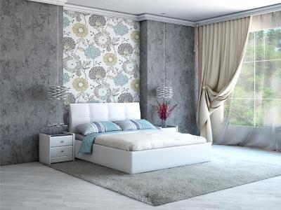 Кровать Visconti белая