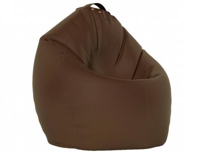 Кресло-мешок XL нейлон коричневый