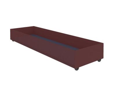 Ящик для белья выкатной Милсон красный 1800х540х210 мм